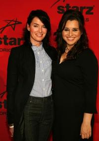 Lena Headey and Michelle Arthur at the California premiere of