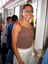 A File Photo of Actress Laura Ceron, Dated August 8, 2004.