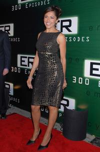 Laura Ceron at the celebration for the 300th episode of