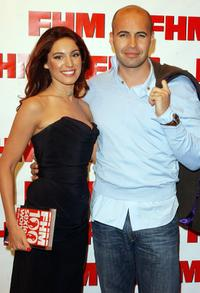 Kelly Brook and Billy Zane at the FHM's 100 Sexiest Women In The World party.