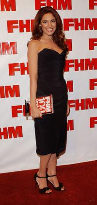 Kelly Brook at the FHM's 100 Sexiest Women In The World party.