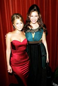 Rachel Stevens and Kelly Brook at the UK premiere of
