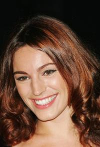 Kelly Brook at the BFI London Film Festival Gala screening of