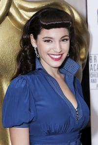 Kelly Brook at the 11th British Academy Children's Film & Television Awards.