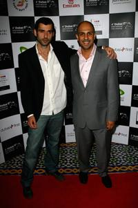 Kais Nashif and Anthony Azizi at the premiere of