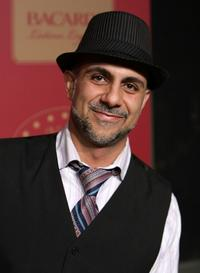 Anthony Azizi at the National Hispanic Foundation for the Arts and Bacardi Rum's Latino Legacy on Film.