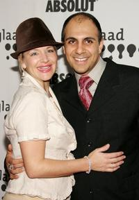 Cymbeline Smith and Anthony Azizi at the 17th Annual GLAAD Media Awards.