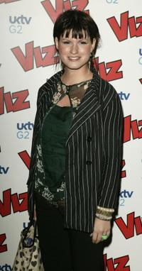 Jemima Rooper at the 25th anniversary and book launch party for cult adult comic, Viz Magazine.