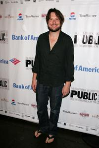 Christopher Evan Welch at the after party of the opening night of