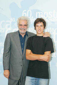 Omar Sharif and Pierre Boulanger at the photocall of