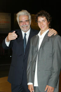 Omar Sharif and Pierre Boulanger at the premiere of