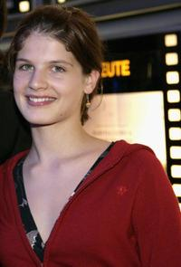 Svea Lohde at the premiere of
