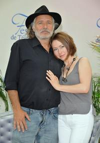 Rade Sherbedgia and Agata Gotova at the photocall of