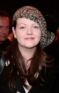 Meg White at the screening of