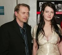 Steve Buscemi and Meg White at the New York premiere of