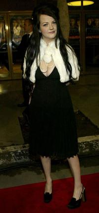 Meg White at the premiere of