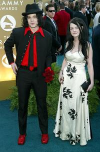 Jack and Meg White at the 46th Annual Grammy Awards.