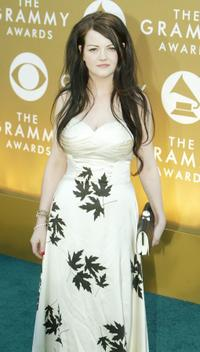 Meg White at the 46th Annual Grammy Awards.