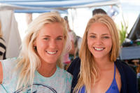 Bethany Hamilton and AnnaSophia Robb in