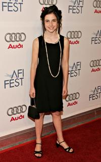 Hailey Anne Nelson at the AFI Fest Opening Night Gala and screening of