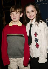 Joseph Humphrey and Hailey Anne Nelson at the world premiere of
