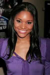 Erica Hubbard at the special screening of