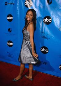 Erica Hubbard at the Disney / ABC Television Group All Star Party.