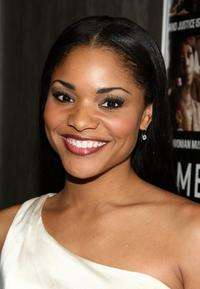 Erica Hubbard at the premiere of