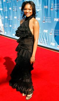 Erica Hubbard at the 38th Annual NAACP Image Awards.