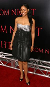 Erica Hubbard at the world premiere of