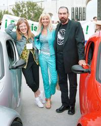 Mimi Kennedy, Guest and Paul DeJoria at the EarthFaire celebration.