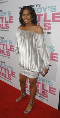 Terri J. Vaughn at the premiere of