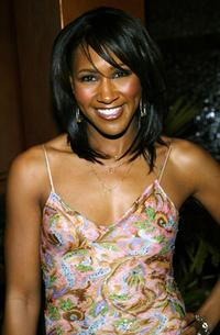 Terri J. Vaughn at the Ebony Magazine Oscar party