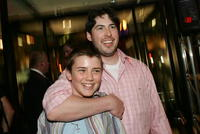 Cameron Bright and Director Jason Reitman at the after party of
