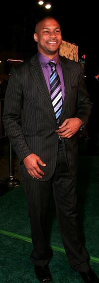 Finesse Mitchell at the premiere of