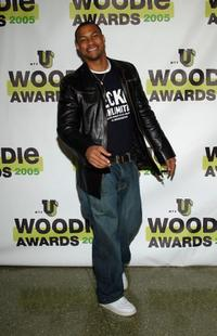 Finesse Mitchell at the MTVU Woodie Awards.