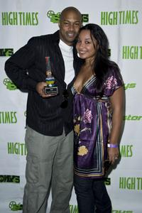 Finesse Mitchell and Jessica Mitchell at the High Times Magazine's 8th Annual Stony Awards.