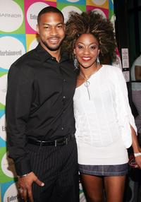 Finesse Mitchell and Nadia Turner at the Entertainment Weeklys
