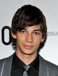 Devon Bostick at the premiere of