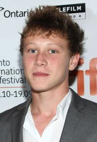 George MacKay at the screening of