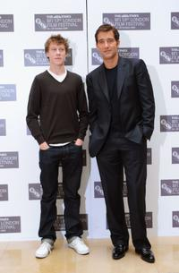George MacKay and Clive Owen at the photocall of