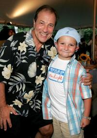 Dan Grimaldi and Paulie Litt at the Mayor Hosts BBQ At Gracie Mansion For The Entertainment Industry.