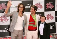 Rain, Christian Oliver and Paulie Litt at the premiere of