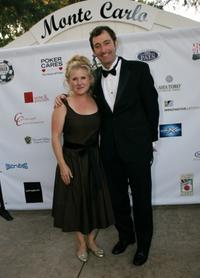 Nancy Cartwright and Tom Kenny at the Monte Carlo Night benefiting Devonshire PALS.