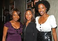 Alfre Woodard, Nicole Beharie and Karimah Westbrook at the premiere of