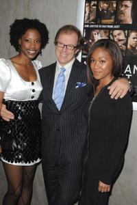 Karimah Westbrook, Bill Haney and Nicole Beharie at the premiere of