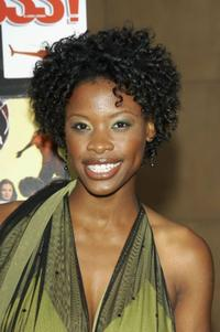 Karimah Westbrook at the Los Angeles premiere of