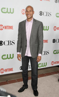 Keegan-Michael Key at the CBS, CW, CBS Television Studios & Showtime TCA party in California.
