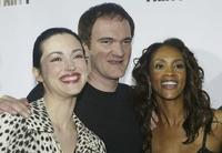 Julie Dreyfus, Quentin Tarantino and Vivica A. Fox at the