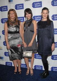 Sandy Golinkin, Tamara Feldman and Kim France at the Lucky Magazine's Lucky Shops V.I.P. Preview Party.